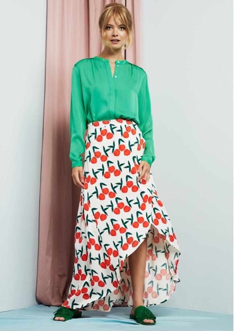 FABIENNE CHAPOT Cora Goddess Skirt - Feeling Peachy main image