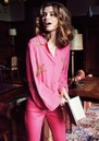 Fleur Show Blouse - Bright Pink additional image