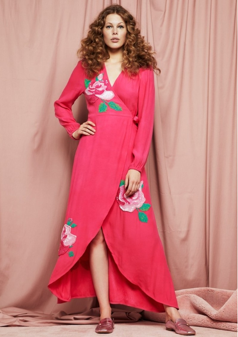 FABIENNE CHAPOT Natasja Show Dress - Bright Pink main image