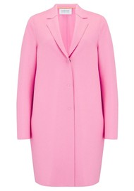 HARRIS WHARF Cocoon Coat - Candy