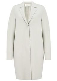 HARRIS WHARF Cocoon Coat - Creamy Grey