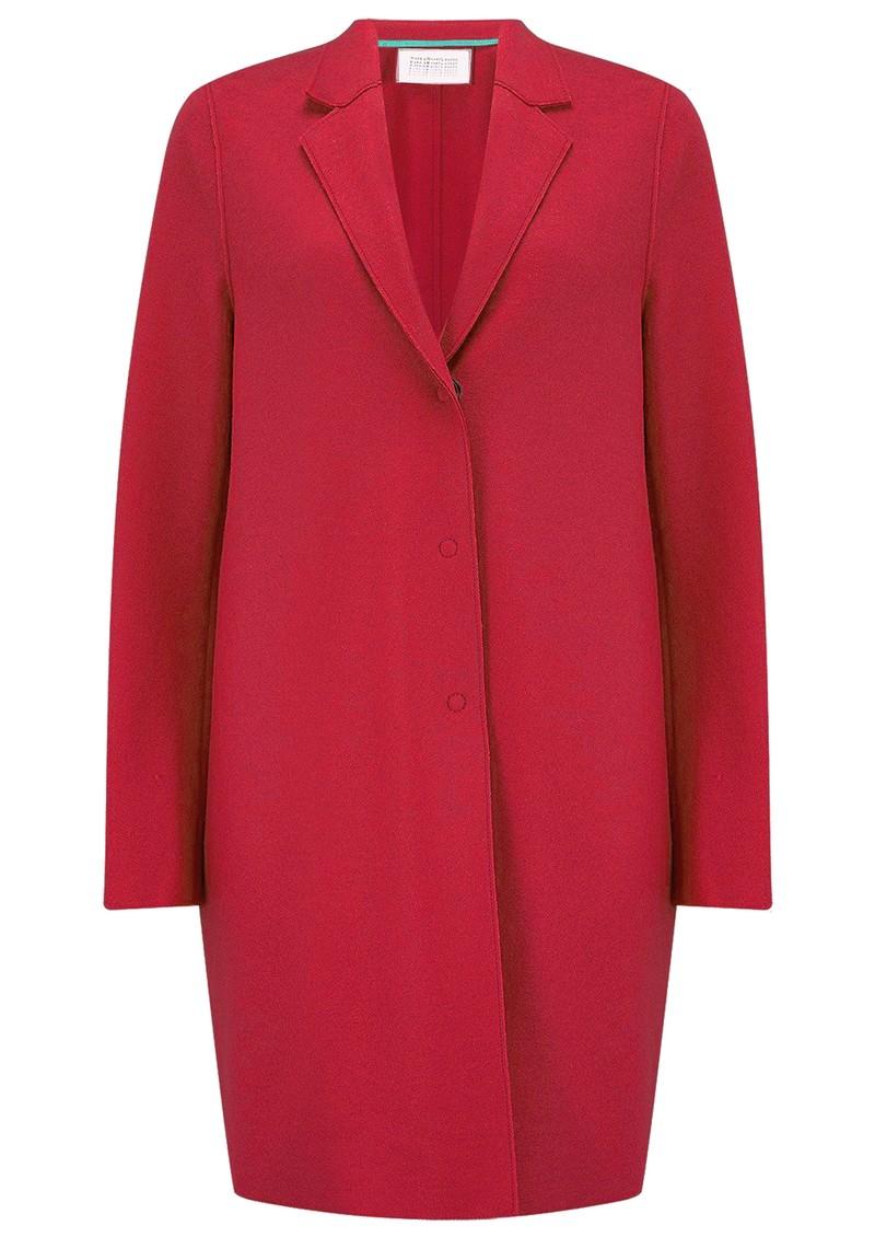 HARRIS WHARF Cocoon Coat - Hibiscus main image