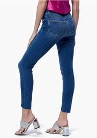 Paige Denim Hoxton Ankle Double Button Jeans - Janie