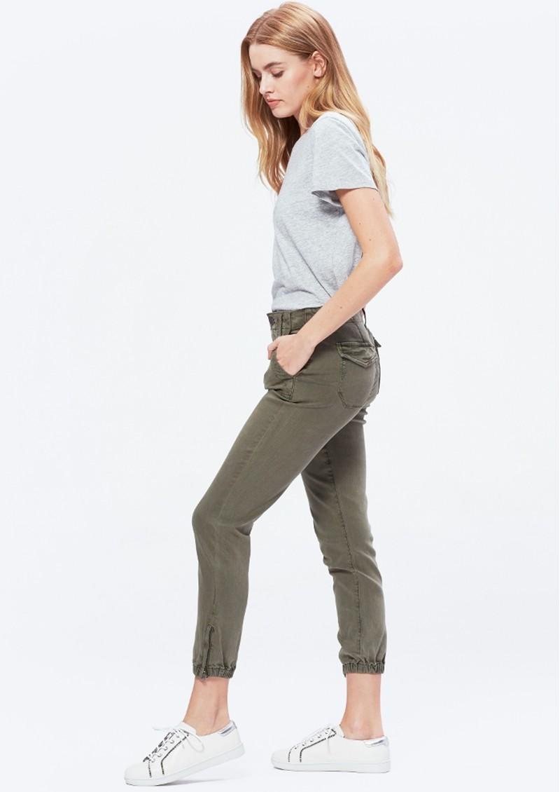 Paige Denim Mayslie Jogger - Vintage Ivy Green main image