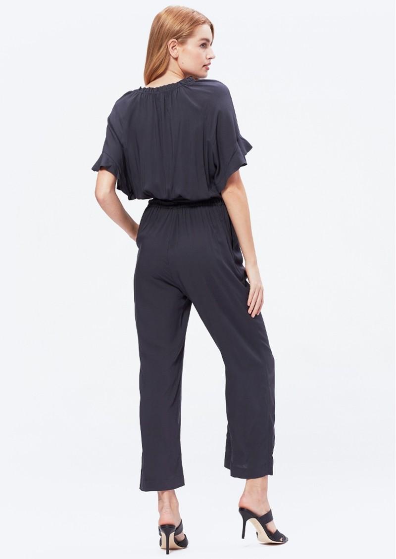 Paige Denim Harmony Jumpsuit - Obsidian  main image