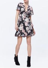 Paige Denim Cardamom Dress - Black & Sand