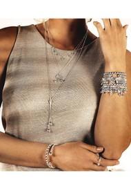 ChloBo Splendid Star Divine Fortune Bracelet - Silver