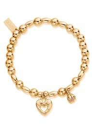 ChloBo Splendid Star Divine Fortune Bracelet - Gold