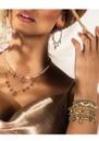 ChloBo Splendid Star Entwined Fate Bangle - Gold