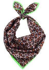 Becksondergaard Demi Silk Leopard Scarf - Soft Beige