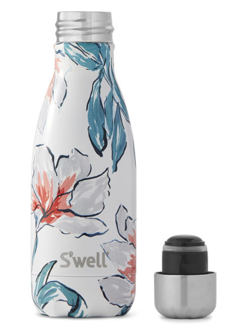 SWELL Flora & Fauna 9oz Water Bottle - Madonna Lily main image