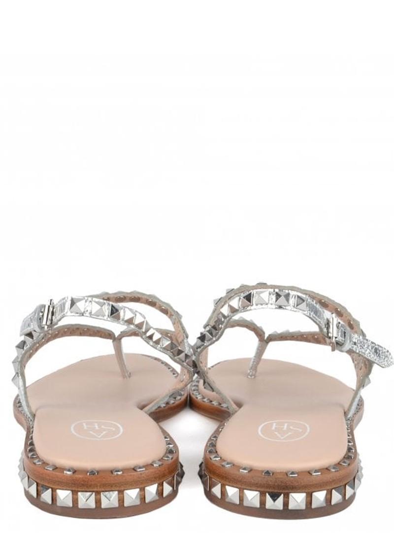 Ash Peps Studded Sandal - Silver Moon  main image