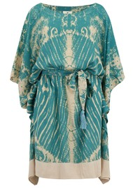 TRIBE + FABLE Lulu Dress - Pagoda Teal