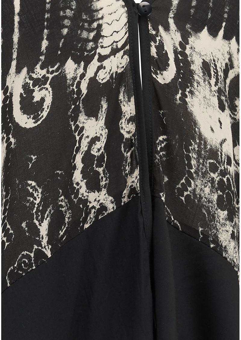 TRIBE + FABLE Paradise Short Kimono - Black main image