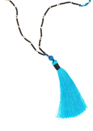 TRIBE + FABLE Single Tassel Necklace - Byzantine