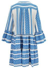 DEVOTION Zakar Dress - Blue