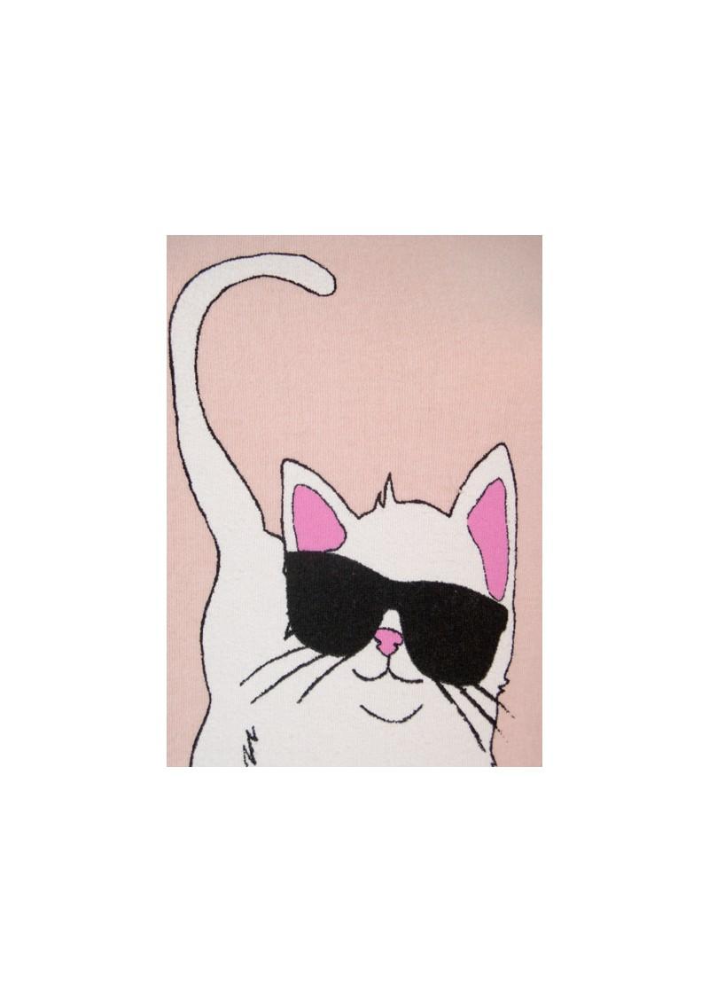 Wildfox Cool Cat Jumper - Nude main image