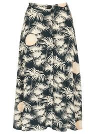 Des Petits Hauts  Teziko Printed Skirt - Emeraude