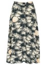 Teziko Printed Skirt - Emeraude additional image