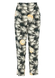Des Petits Hauts  Tezys Printed Trousers - Emeraude