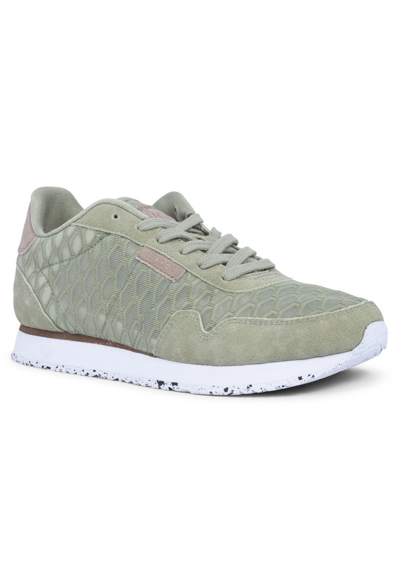 Nora II Mesh Trainers - Dusty Olive main image
