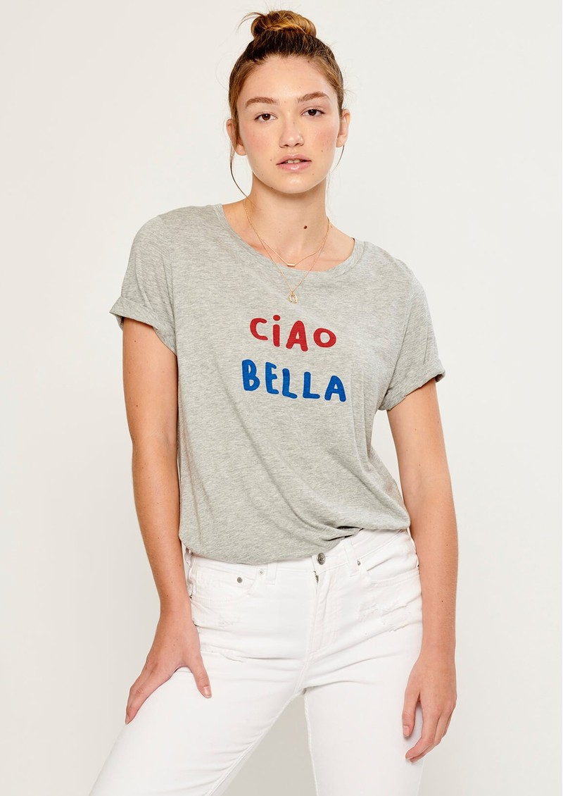 SOUTH PARADE Lola Ciao Bella T-Shirt - Heather Grey main image
