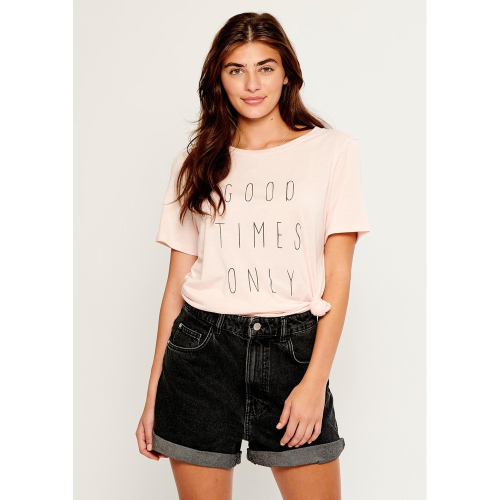 Lola Good Times Only T-Shirt - Pink