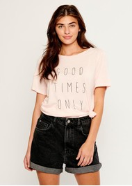 SOUTH PARADE Lola Good Times Only T-Shirt - Pink