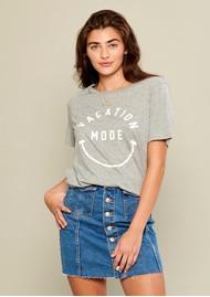 SOUTH PARADE Lola Vacation Mode T-Shirt - Heather Grey