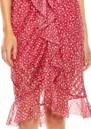 TALULAH Promise Midi Dress - Pink Ditsy
