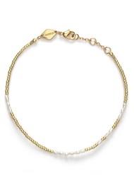 ANNI LU Asym Pearl Bracelet - White Smoke