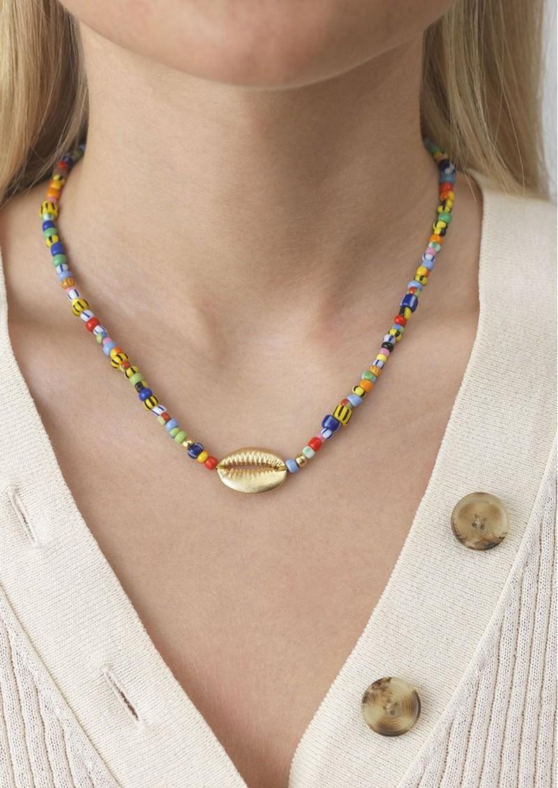 ANNI LU Alaia Cowry Shell Necklace - Mix main image