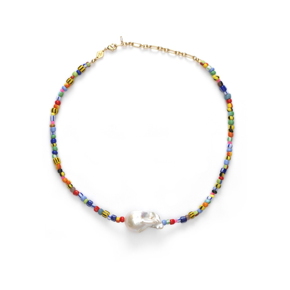 Alaia Baroque Pearl Necklace - Mix