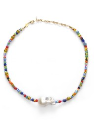ANNI LU Alaia Baroque Pearl Necklace - Mix