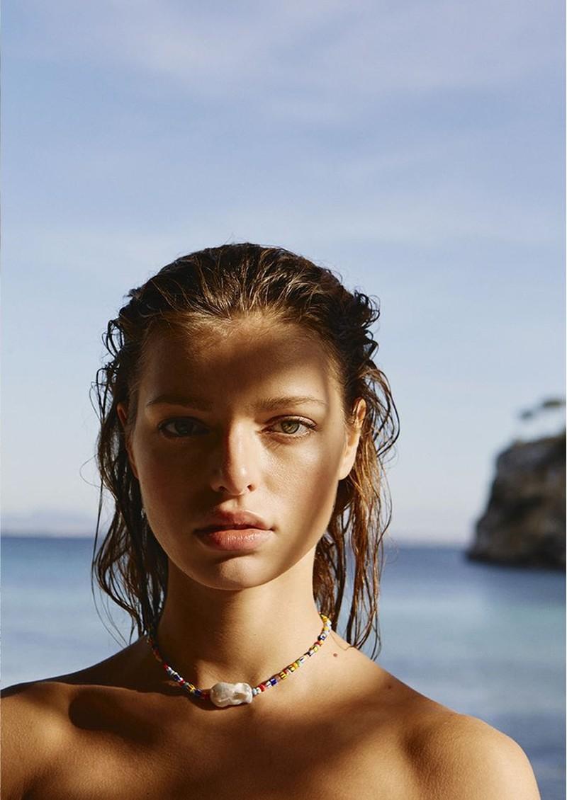 ANNI LU Alaia Baroque Pearl Necklace - Mix main image