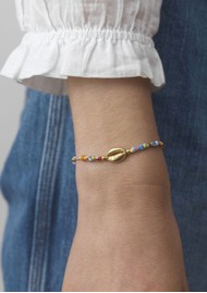 ANNI LU Alaia Cowry Shell Bracelet - Mix