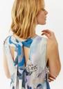 Twist and Tango Jennifer Dress - Blue Marble
