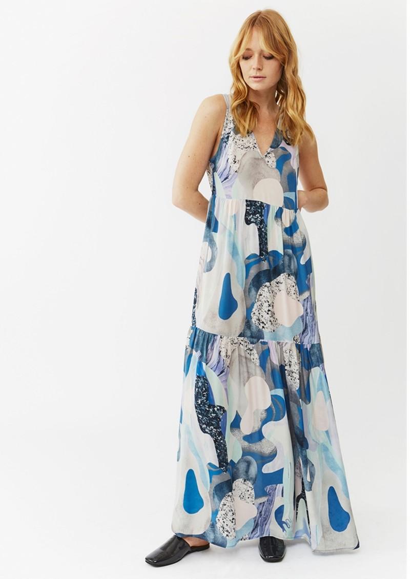 Twist and Tango Jennifer Dress - Blue Marble main image