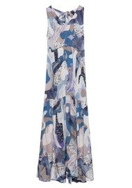 Twist and Tango Jennifer Dress - Blue Marble
