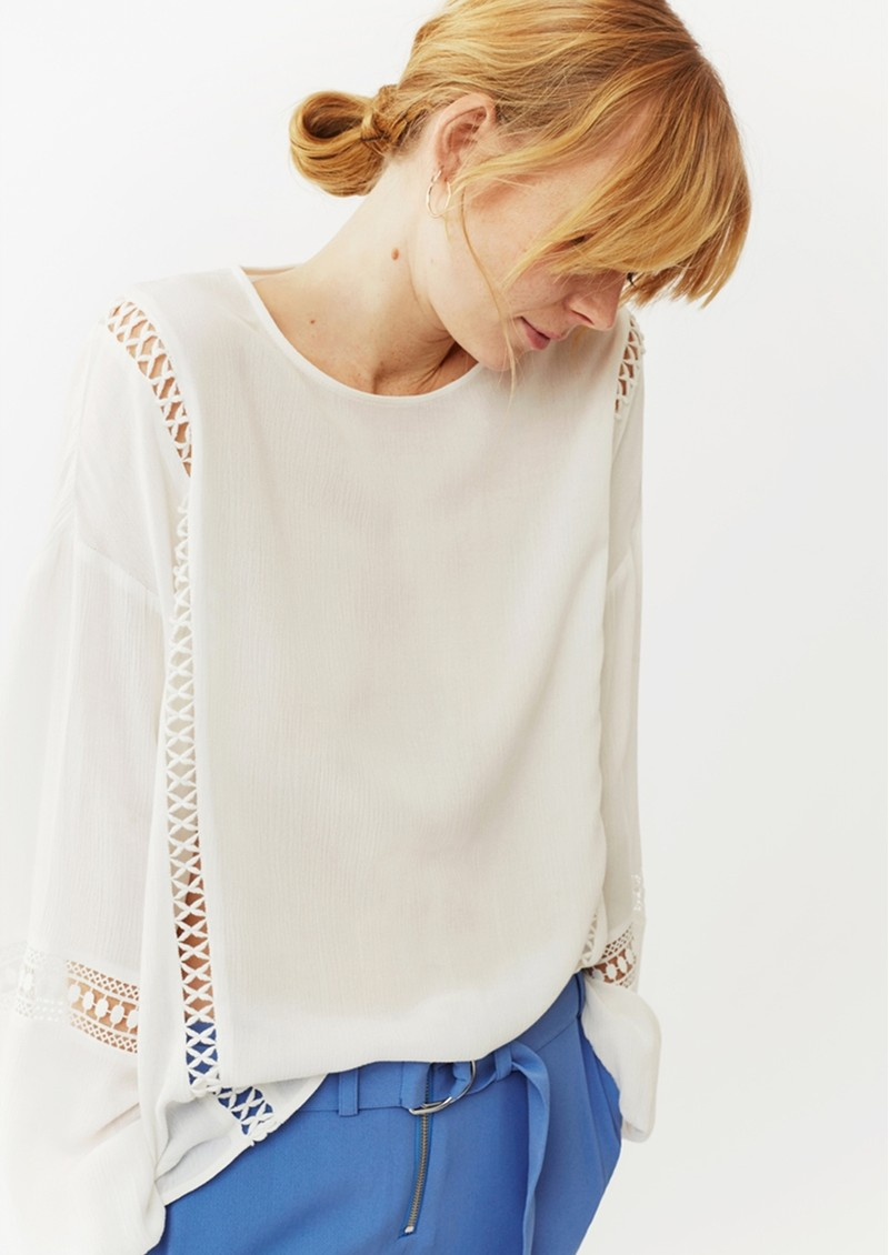 Twist and Tango Melody Blouse - Off White main image