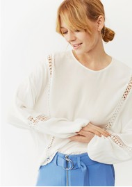 Twist and Tango Melody Blouse - Off White