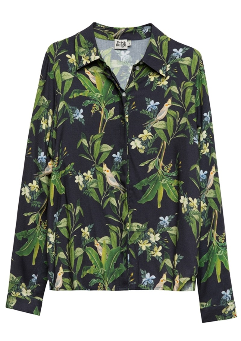 Philippa Shirt - Navy Bird main image