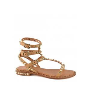 Play Studded Sandals - Nude