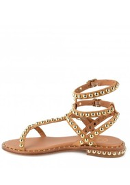 Ash Play Studded Sandals - Nude