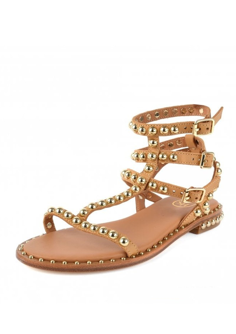 Ash Play Studded Sandals - Nude main image