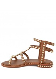 Ash Power Studded Sandal - Cuoio