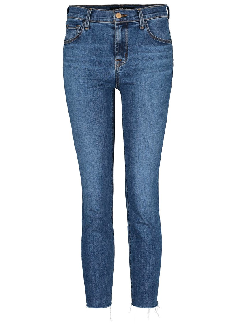J Brand Ruby High Rise Cropped Cigarette Jeans - Lovesick main image