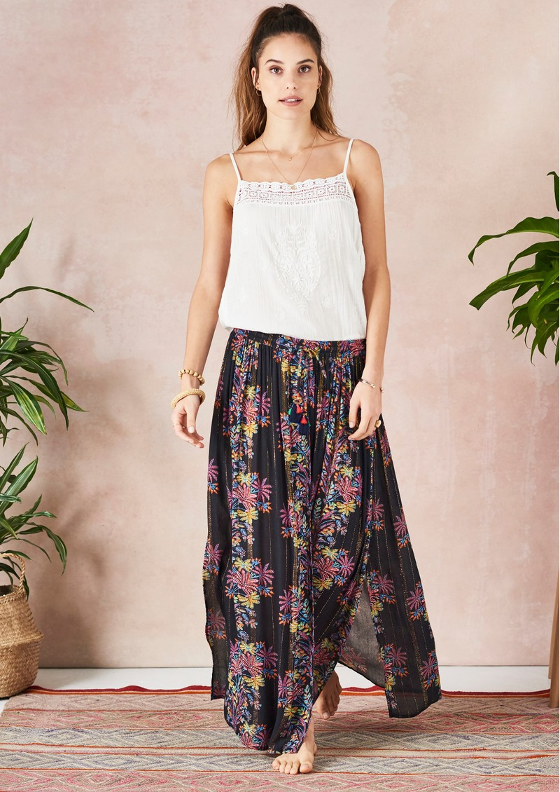 Star Mela Pati Maxi Skirt - Multi main image
