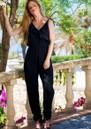 LINDSEY BROWN Santa Rosa Jumpsuit - Black