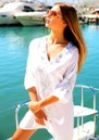 Monaco Sequin Kaftan Dress - White & Silver additional image